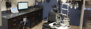 Accent Eye Care new-exam-room