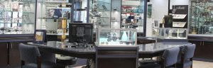 Accent Eye Care ushape-desk-view