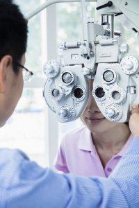 Accent Eye Care Eye exam
