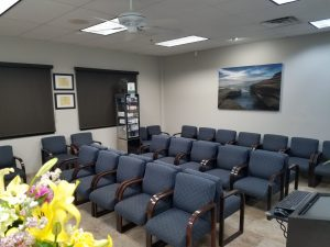 Accent Eye Care Reception Room 1