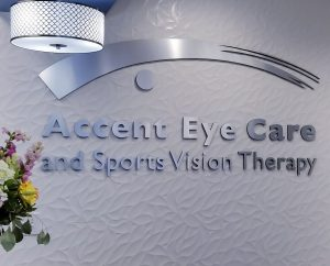 Accent Eye Care Signage cream