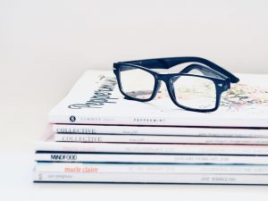 Accent Eye Care stack-magazines-glasses-spectacles