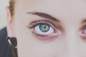 Accent Eye Care closeup-photography-of-woman-right-eye